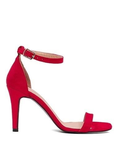 Sole Sisters Topuklu Sandalet Kırmızı - Manas2 Kırmızı